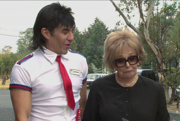 El Vítor pasó por la mamá de Cipriano y le dijo que él mismo llevaría el...