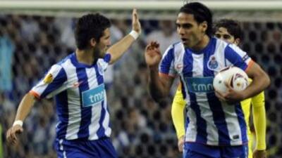 Mourinho ya hizo mancuerna con Radamel en el Porto.