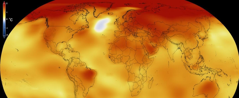 En video: así ha aumentado la temperatura global desde 1880