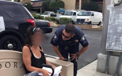 Compasión de policía de Glendora