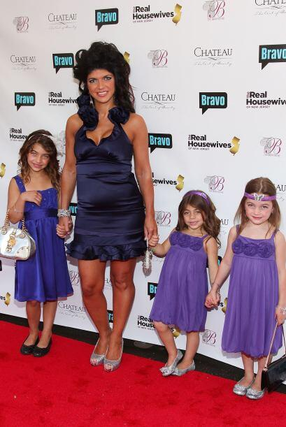 Por el momento, no se sabe lo que sucederá con sus cuatro hijas....