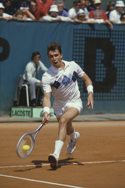 Uno de los tenistas más dominantes de los 80's, el checo-estadoun...