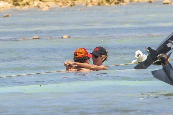 La Klum estuvo en las playas de Cancún y ahí vivió su paraíso, como si f...