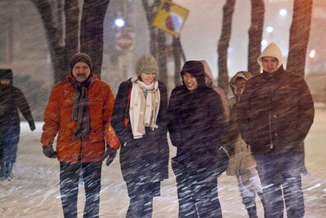 El frente de mal tiempo afectará por varios días el noreste del pais.
