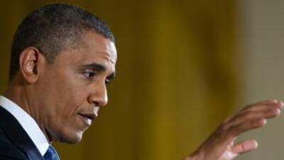 El presidente Barack Obama, evitó hoy especular sobre el proceso que rod...