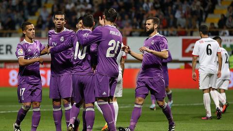 Real Madrid derrotó  7-1 Cultural y Deportiva Leonesa
