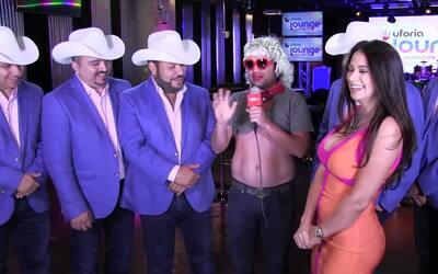'Justin Case' entrevistó a Grupo Pesado