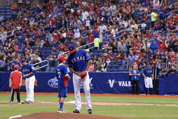 La noche del viernes San Antonio pasó una gran noche de béisbol.