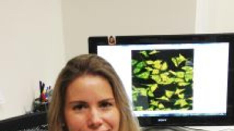 Una imagen de la doctora Luisa María Seoane, que ha liderado el trabajo...