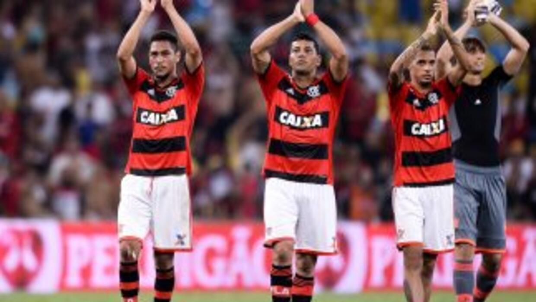En el estadio Serra Dourada, de Goiania, Flamengo sacó un resultado muy...
