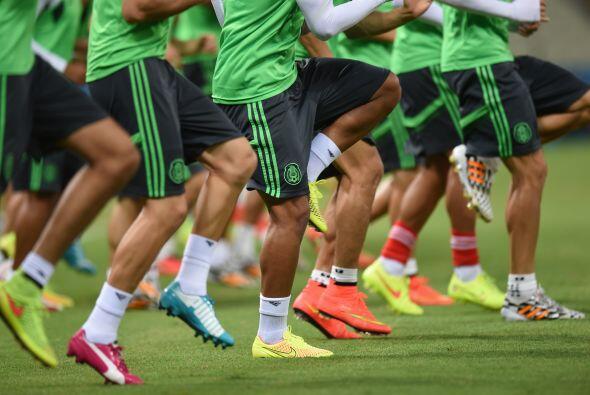 México disputa su segundo partido de la Copa del Mundo Brasil 2014.