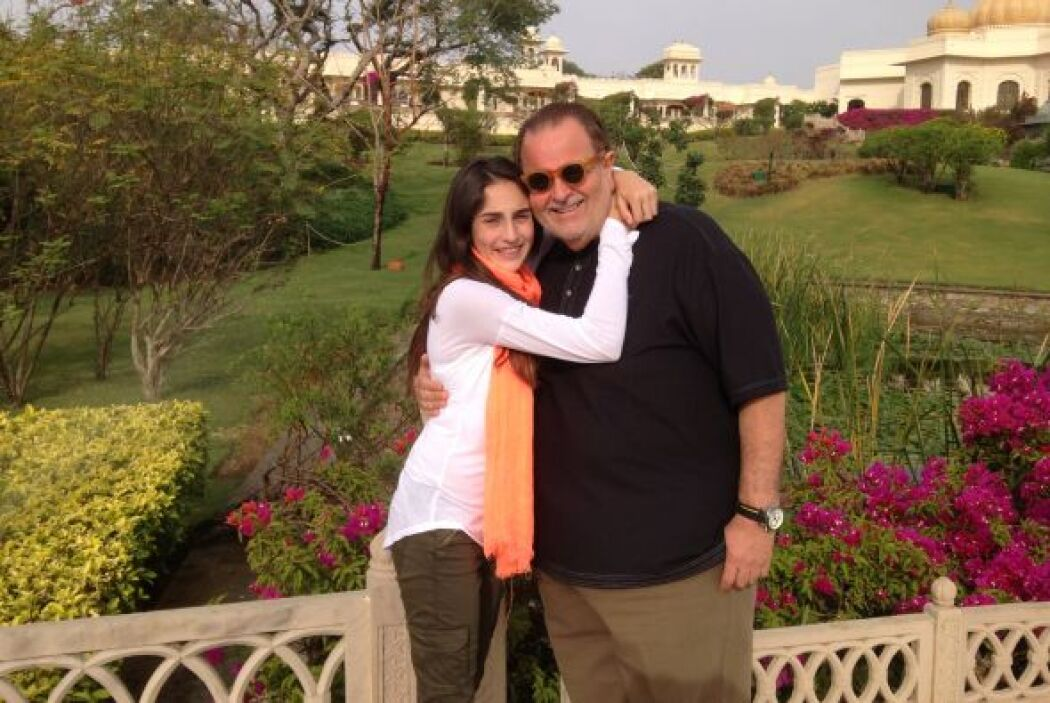 Uno de los sitios que Raúl pudo visitar en India fueron los jardines de...