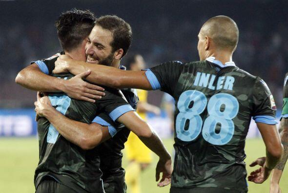 Precisamente en el conjunto italiano jugará el argentino Gonzalo Higuaín...