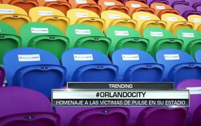 Orlando City SC instala butacas en tributo a las víctimas de la masacre...