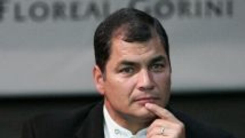 El presidente ecuatoriano Rafael Correa ha sido severamente criticado po...