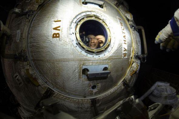 La nave Soyuz TMA-09M despegó de Baikonur a las 19:57 GMT el 28 de mayo....