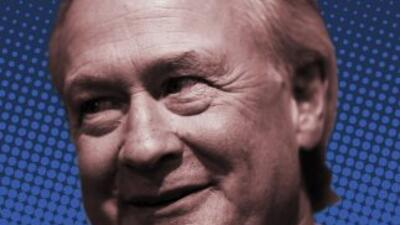 Lincoln Chafee, candidato demócrata.