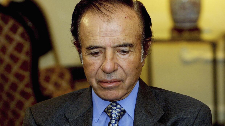 Carlos Menem, expresidente argentino
