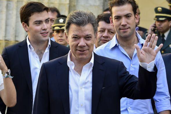 """""""Mi llamado a los colombianos es que voten, que salgan a votar temprano,..."""