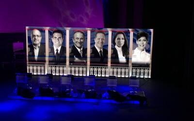 Este es el último turno al bate de los seis candidatos a la Gober...