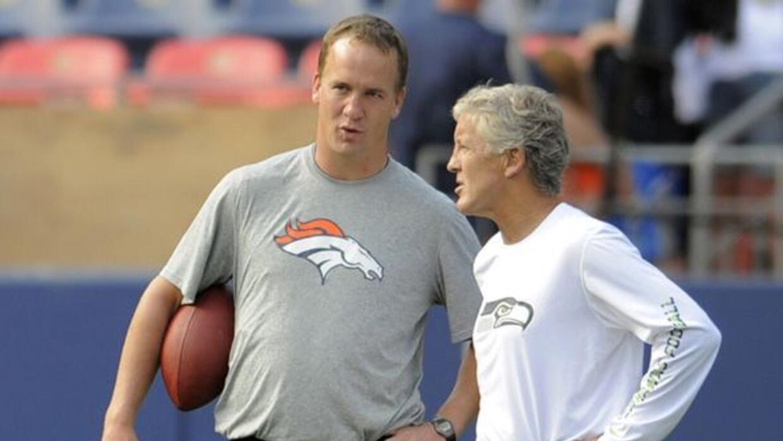 Pete Carroll buscó a Peyton Manning y, de haberlo conseguido, hubiera co...