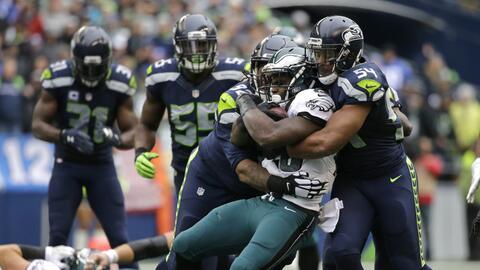 Los Seattle Seahawks fueron mucha pieza para Carson Wentz y sus Eagles