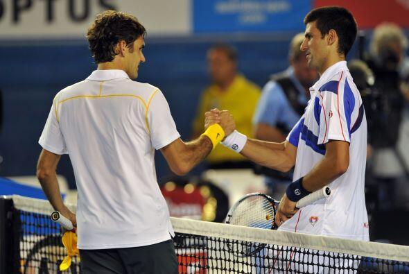 Dispuesto a ampliar su trayectoria tenística, Federer no ha parado duran...