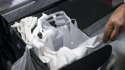 Vaya preparándose para la prohibición de bolsas plásticas en los comercios