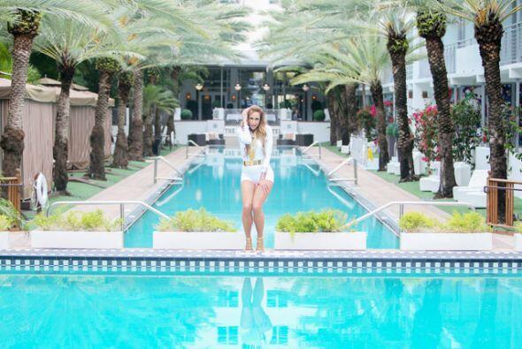 En esta piscina, Lili pudo haberse dado un chapuzón.