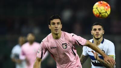 Inter empató en su visita al Palermo