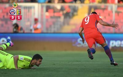 Chile venció 3-1 a Venezuela