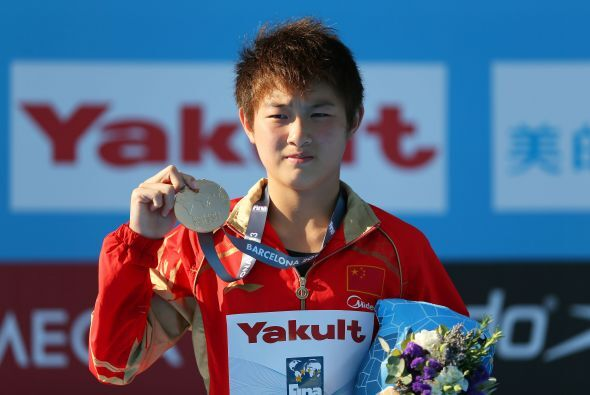 La china Si Yajie se colgó la medalla de oro en la modalidad de platafor...