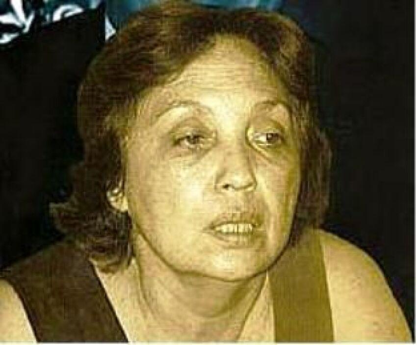 Herma Marksman. Fue la amante más destacada de Chávez mientras estuvo ca...