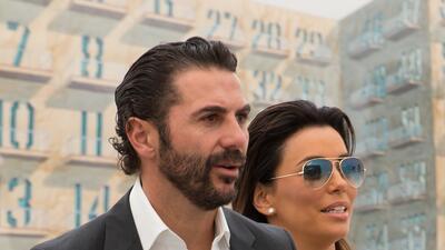 Eva Longoria y José Bastón