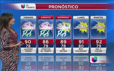 Muy poca confianza en el pronóstico del tiempo para Puerto Rico