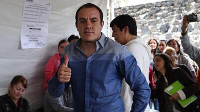Cuauhtémoc Blanco festejó posible victoria como alcalde: ''Ahora sí me l...