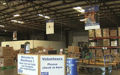 El Banco de Comida de Sacramento recibió 16 toneladas de alimentos enlat...