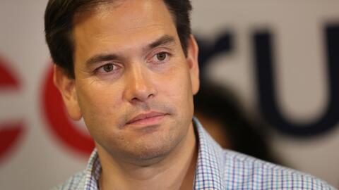 Marco Rubio no se compromete a cumplir su tiempo en el Senado si obtiene...