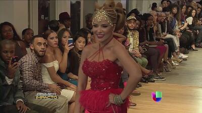 Gloria Trevi desfiló en la Semana de la Moda en Nueva York