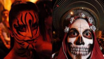 Halloween o Día de los Muertos.