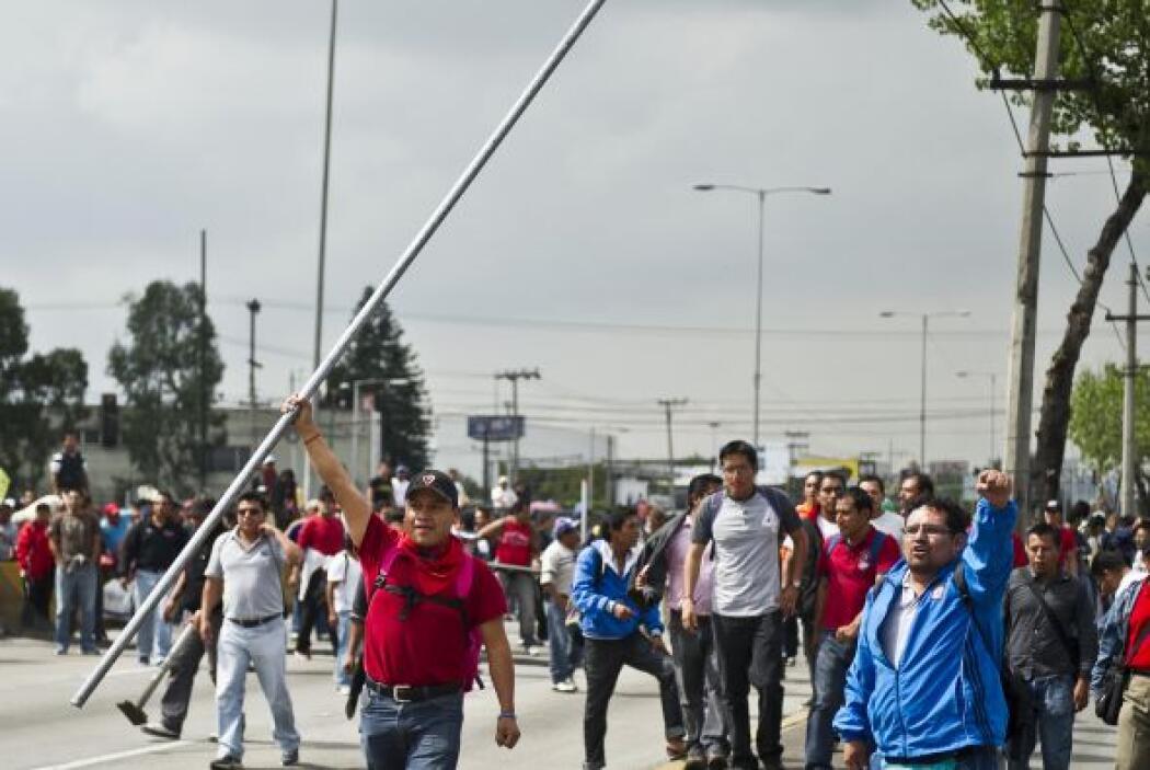 La ciudad de México se ha visto afectada desde hace casi un mes por las...