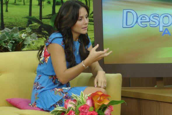 También habló de su futuro matrimonio con Alberto Guerra y...