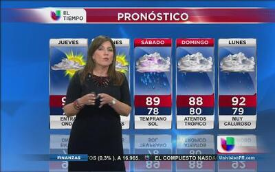 Incierto el pronóstico de la onda tropical que se acerca a Puerto Rico