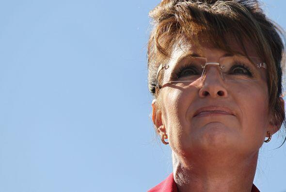 La ex candidata republicana a la vicepresidencia de Estados Unidos, Sara...