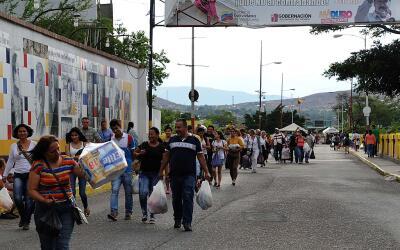 Frontera entre Venezuela y Colombia