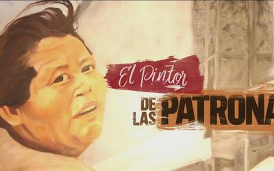 Claudio Talavera Ballon plasmó en lienzo la labor que realizan 'Las Patr...