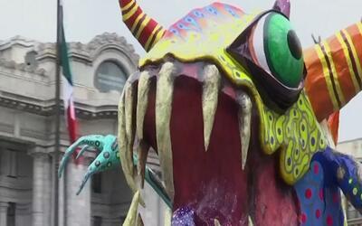 Así fue el tradicional desfile de los 'Alebrijes' en la Ciudad de México