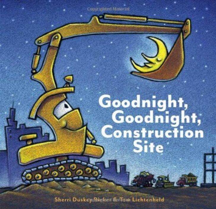 GOODNIGHT, GOODNIGHT CONSTRUCTION SITE - A medida que el sol cae detrás...