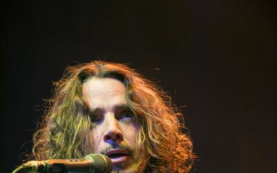 BIRMINGHAM, ENGLAND - MAY 02: Singer Chris Cornell performs on stage at...