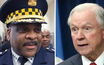 "Eddie Johnson tras reunión con Jeff Sessions: ""Ambos entendemos que la P..."